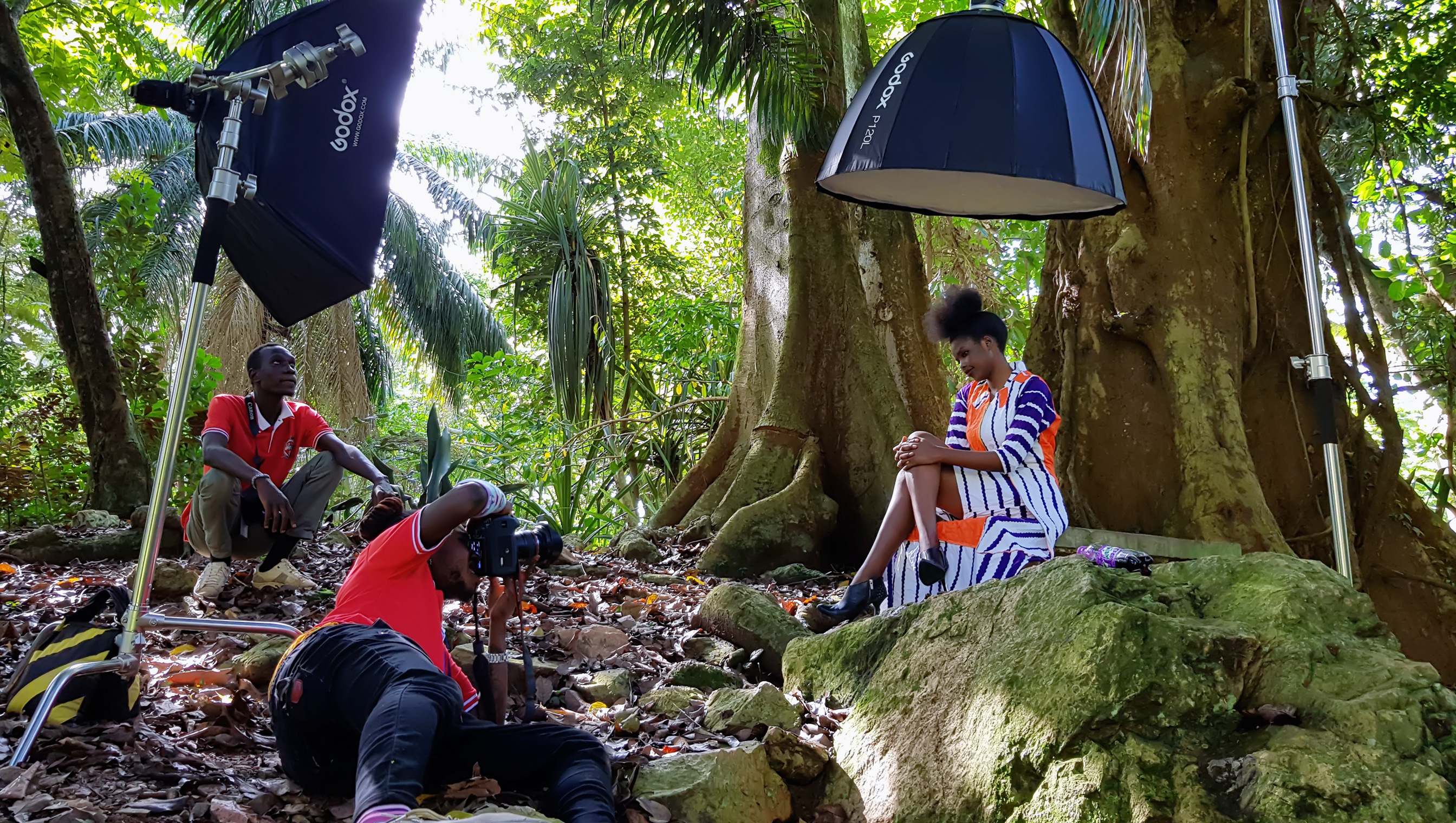 Onlocation hands on experience with the photography students of 2019 at Proline Film Academy
